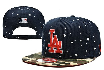 Los Angeles Dodgers Snapback Hat 0903 (6)