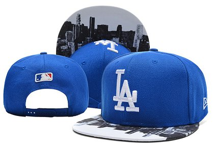 Los Angeles Dodgers Snapback Hat 0903 (7)