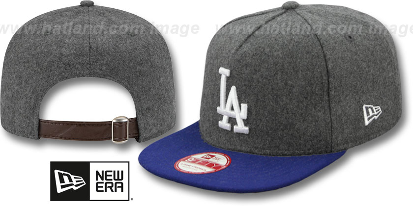 Los Angeles Dodgers-Melton Snapback Hat SF 12