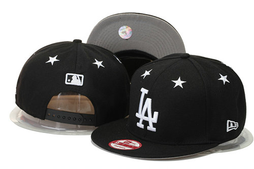 Los Angeles Dodgers Snapback Black Hat 1 GS 0620