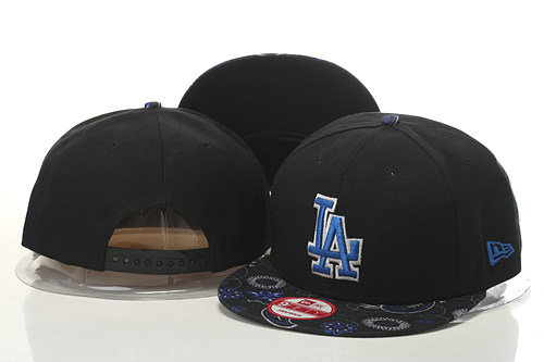 Los Angeles Dodgers Snapback Black Hat GS 0620