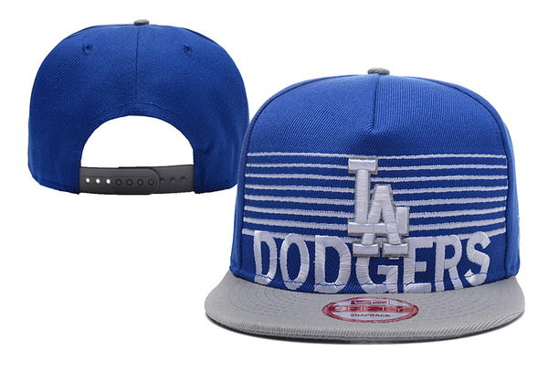 Los Angeles Dodgers Snapback Blue Hat XDF 0620