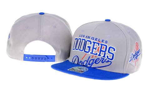 Los Angeles Dodgers MLB Snapback Hat 60D1