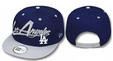 Los Angeles Dodgers MLB Snapback Hat Sf1