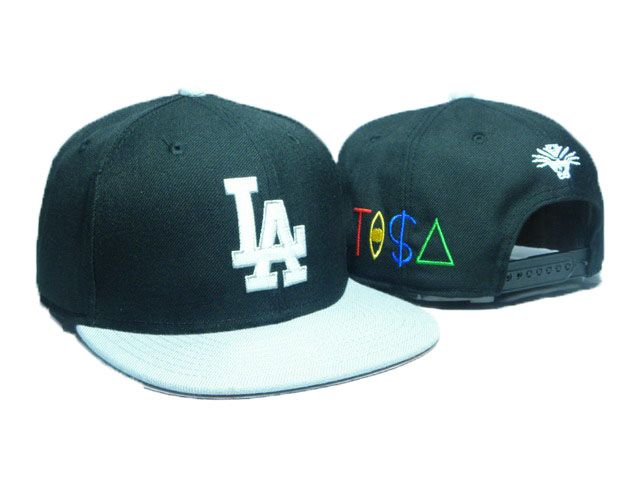 Los Angeles Dodgers TISA Snapback Hat DD06