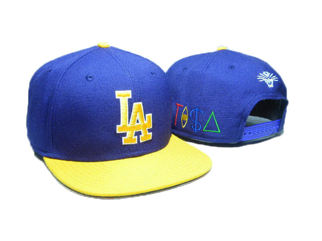 Los Angeles Dodgers TISA Snapback Hat DD18