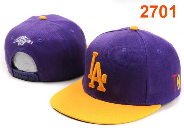 Los Angeles Dodgers TISA Snapback Hat PT14
