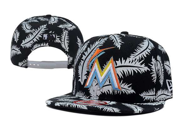 Miami Marlins Snapback Hat XDF 109