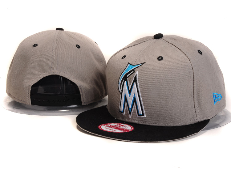 Miami Marlins Snapback Hat Ys 2118