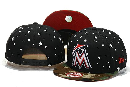 Miami Marlins Snapback Hat YS M 140802 13