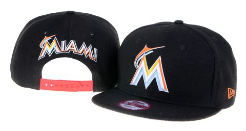 Miami Marlins MLB Snapback Hat 60D1