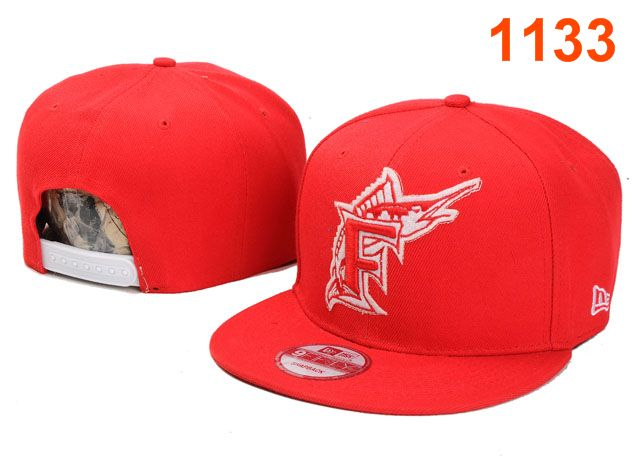 Miami Marlins MLB Snapback Hat PT005