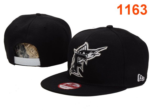 Miami Marlins MLB Snapback Hat PT028