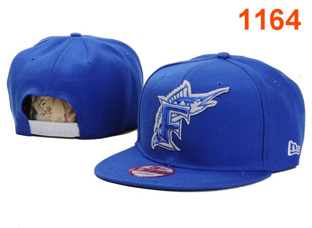 Miami Marlins MLB Snapback Hat PT029