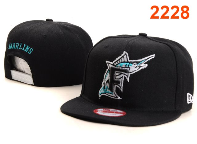 Miami Marlins MLB Snapback Hat PT068