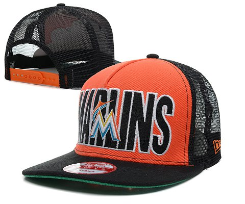 Miami Marlins MLB Snapback Hat SD1