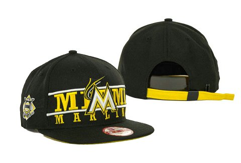 Miami Marlins MLB Snapback Hat SD2