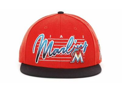 Miami Marlins MLB Snapback Hat Sf