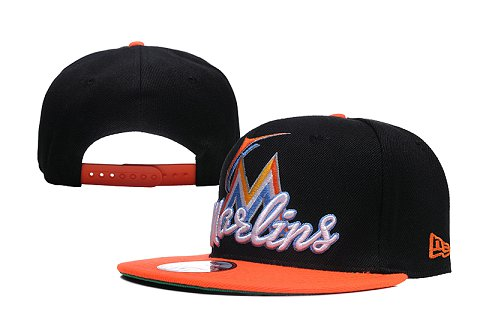 Miami Marlins MLB Snapback Hat XDF03