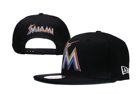 Miami Marlins MLB Snapback Hat XDF04