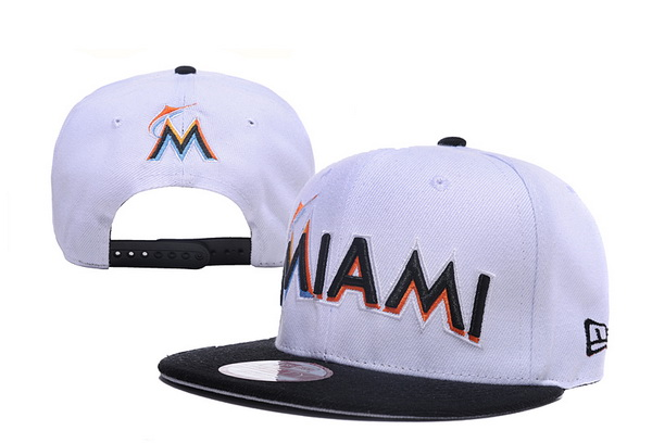 Miami Marlins MLB Snapback Hat XDF09