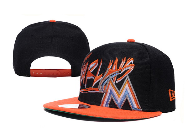 Miami Marlins MLB Snapback Hat XDF10