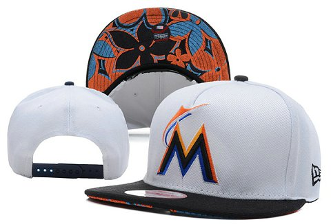 Miami Marlins MLB Snapback Hat XDF15