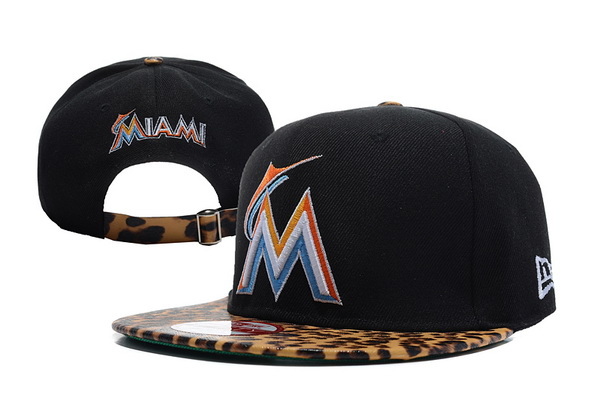 Miami Marlins MLB Snapback Hat XDF30