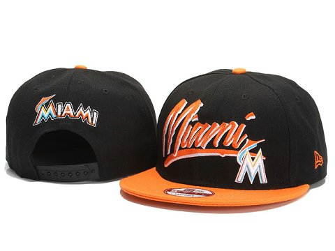 Miami Marlins MLB Snapback Hat YX029