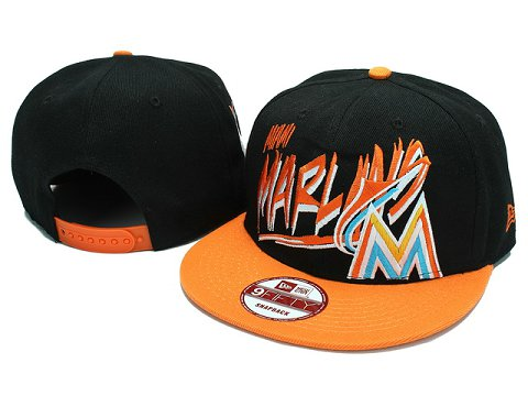 Miami Marlins MLB Snapback Hat YX035