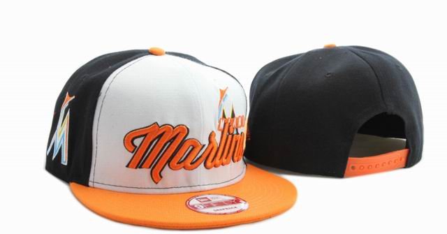 Miami Marlins MLB Snapback Hat YX037