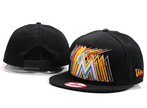 Miami Marlins MLB Snapback Hat YX071