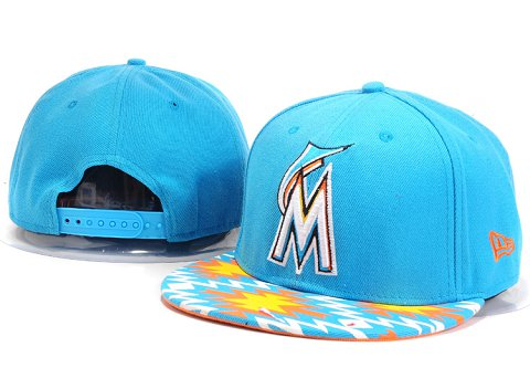 Miami Marlins MLB Snapback Hat YX084