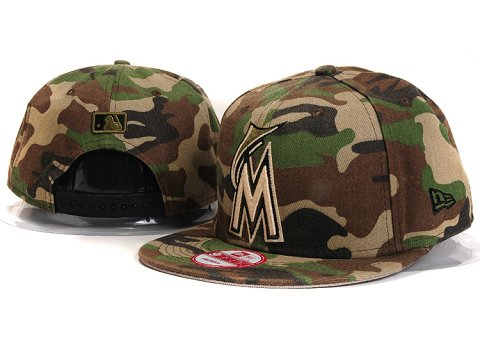 Miami Marlins MLB Snapback Hat YX153