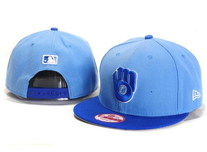 Milwaukee Brewers New Type Snapback Hat YS7611