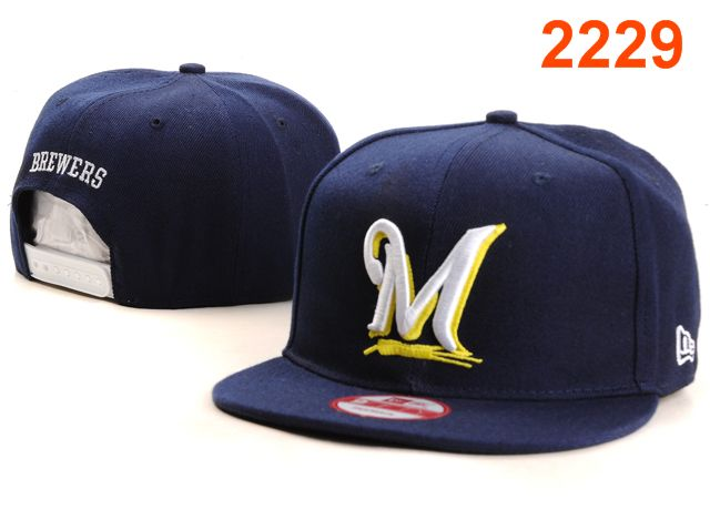 Milwaukee Brewers MLB Snapback Hat PT069