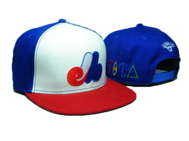 Montreal Expos TISA Snapback Hat DD33