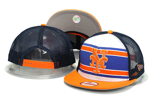 New York Mets Mesh Snapback Hat YS 0613