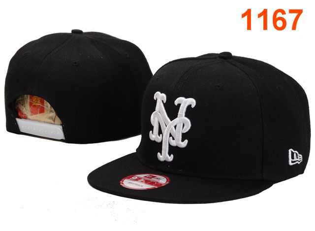 New York Mets MLB Snapback Hat PT031