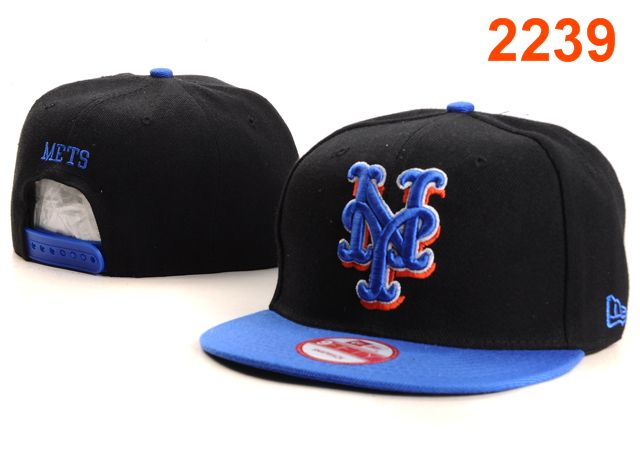 New York Mets MLB Snapback Hat PT077