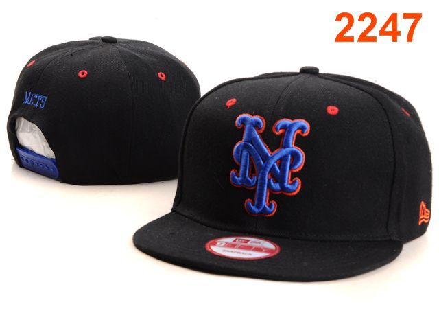 New York Mets MLB Snapback Hat PT085