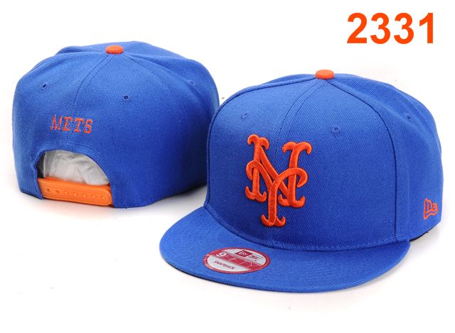 New York Mets MLB Snapback Hat PT094