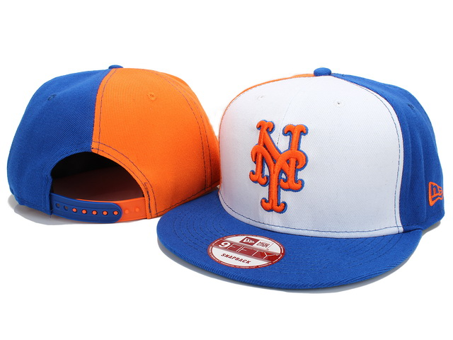 New York Mets MLB Snapback Hat YX036