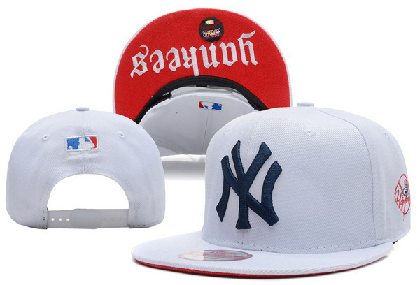 New York Yankees White Snapback Hat XDF
