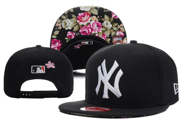 New York Yankees Black Snapback Hat XDF 0528