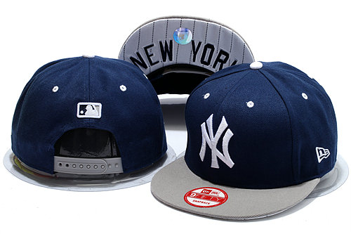 New York Yankees Blue Snapback Hat YS 0528