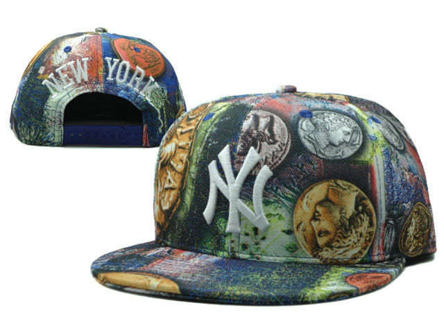 New York Yankees Snapback Hat SF 5 0528