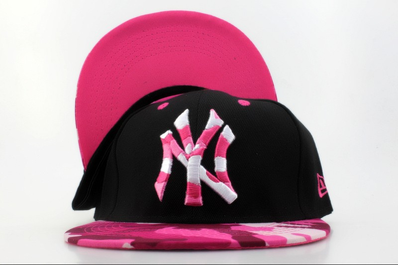 New York Yankees Black Snapback Hat QH 3 0701