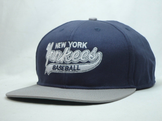 New York Yankees Blue Snapback Hat SF