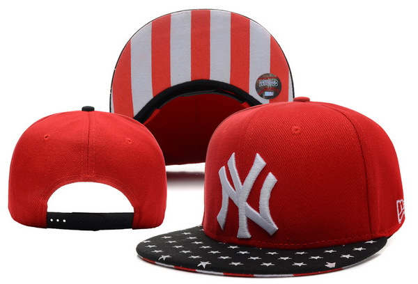 New York Yankees Red Snapback Hat XDF 0721